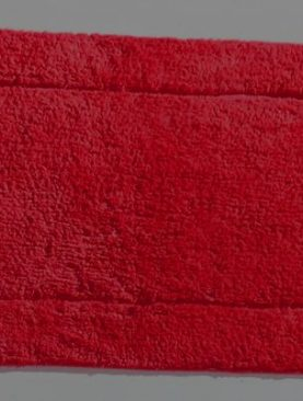 Covoras baie rosu bumbac Sky 410 40x60 cm
