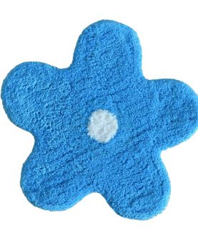 Covoras baie steluta albastra 402 Alegra diam. 50 cm