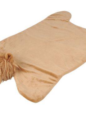 Covoras bebelusi cu leusor Zimba Fauve 90x60 cm