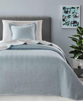 Cuvertura albastra pat 7844 Stella 180x270 cm