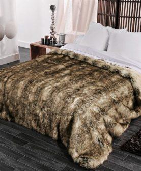 Cuvertura blana animal Grizzly 230x250 cm