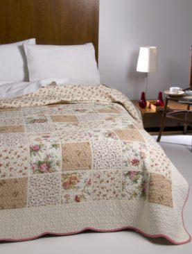 Cuvertura bumbac patchwork Nadia 7759 235x270 cm