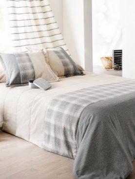 Cuvertura dormitor bej gri Calvin 5035 230x250 cm