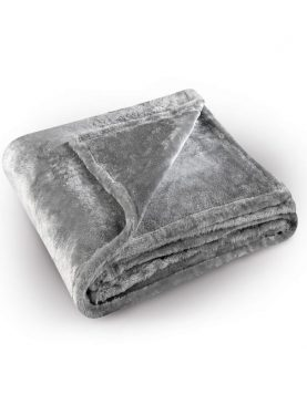 Cuvertura gri pufoasa 5074 Pilonga 220x240 cm