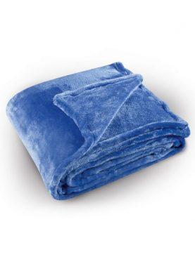 Cuvertura (patura) pat albastra 5074 Pilonga 220x240 cm