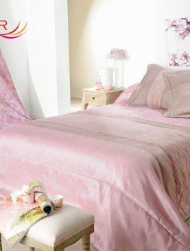 Cuvertura pat roz Milano 5037 230x250 cm