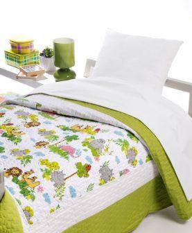 Cuvertura pat copii animale Safari 7753 180x270 cm (Spania)
