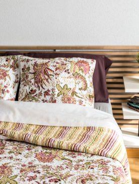 Cuvertura pat dormitor moderna Dora 7786 235x270 cm