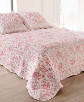 cuvertura florala roz