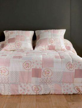 Cuvertura roz trandafiri 5101 Louisiane 230x250 cm
