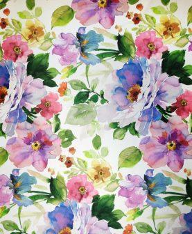 Draperie blackout flori colorate Dim Out Bohemiapek Malva 300 cm