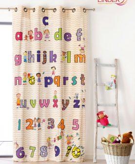draperie camera copii Abecedaire