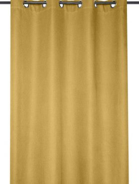 Draperie galben Arsene Moutarde 140x260 cm