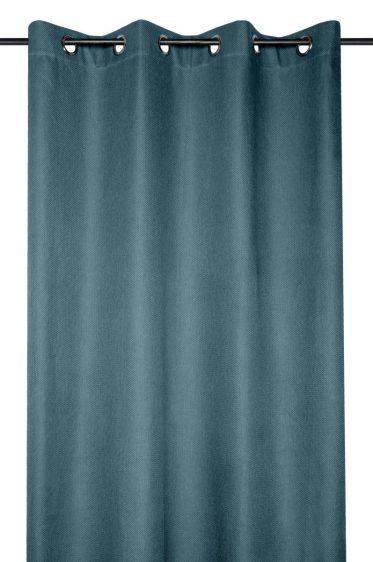 Draperie turcoaz inchis Arsene Canard 140x260 cm