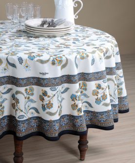 Fata masa dreptunghiulara eleganta Bastide Bleu 160X250 cm