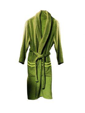 Halat baie verde inchis  bumbac Altea