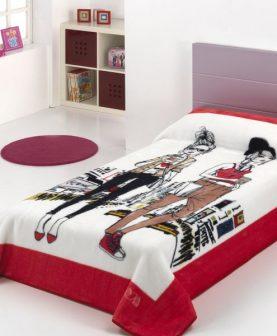 Patura fetite Shopping 195 160x220 cm (Spania)