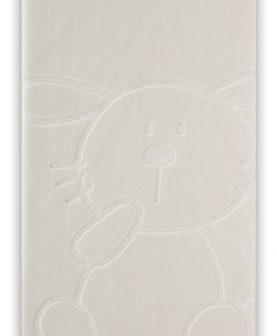 Patura iepuras alba 6642 Blanco (06) 110x140 cm