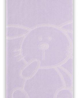 Patura iepuras albastra 6642 Malva 110x140 cm