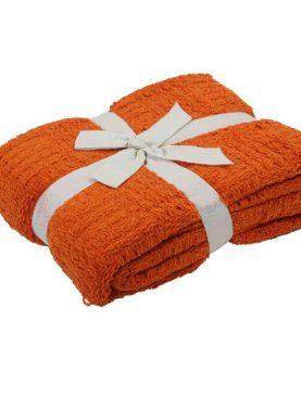 Patura portocalie Etoile 130x170 cm
