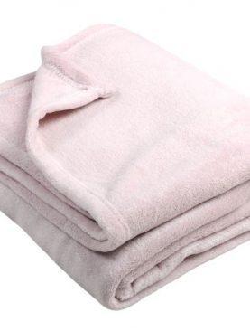 Patura roz lucioasa Shiny 130x160 cm