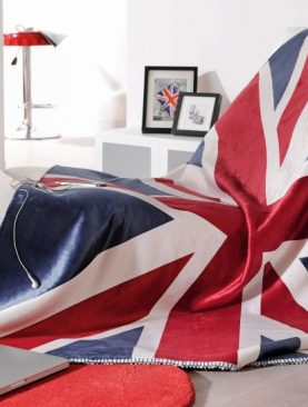 Patura steag UK calduroasa Union Jack 5046 130x150 cm