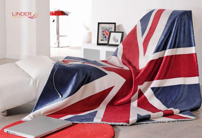 Patura steag UK calduroasa Union Jack 5046 130×150 cm (Franta)
