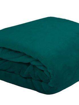 Patura verde inchis 5792 Doudou 130x160 cm