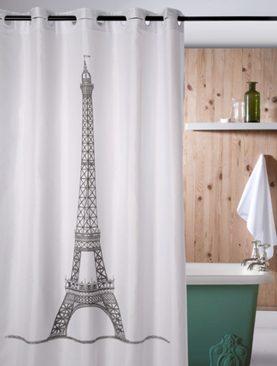 Perdea dus alba Eiffel 218 180x200 cm
