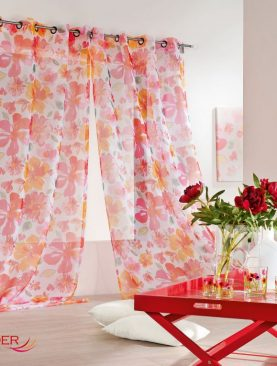Perdea florala 0241/49837 Aquarelle 145x280 cm