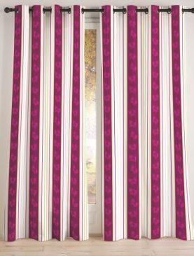 Perdea mov fluturi 135x240 cm Lidice