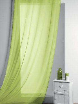 Perdea verde confectionata Lisa Anis 135x260 cm