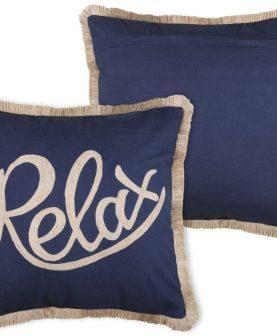 Perna Relax albastra Guernezey Relax 45x45 cm