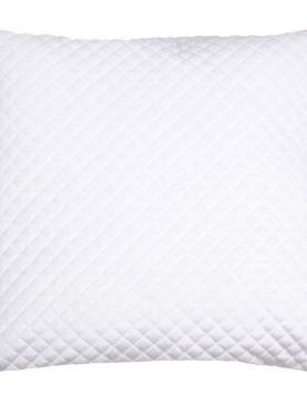 Perna alba catifea Baryton Blanc 45x45 cm