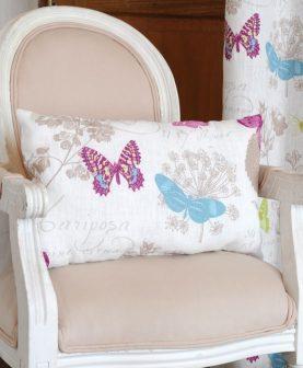 Perna alba fluturi colorati Butterfly 4588 30x50 cm (Franta)