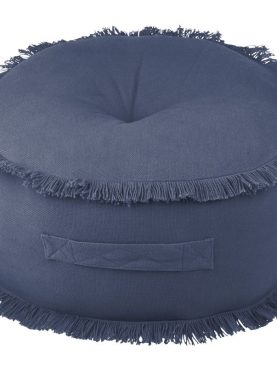 Perna albastra podea rotunda Prague Marine 44x20 cm