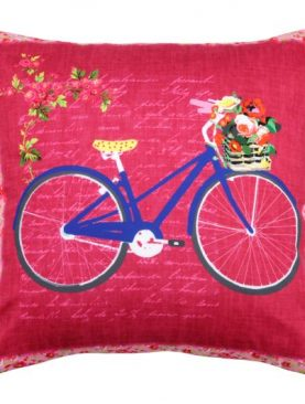 Perna bicicleta albastra Bicycle3 40x40cm