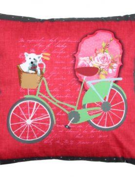 Perna bicicleta verde Bicycle2 40x40 cm