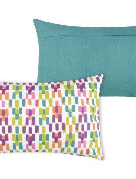 Perna colorata decorativa Jacara Multicolor 30x50 cm