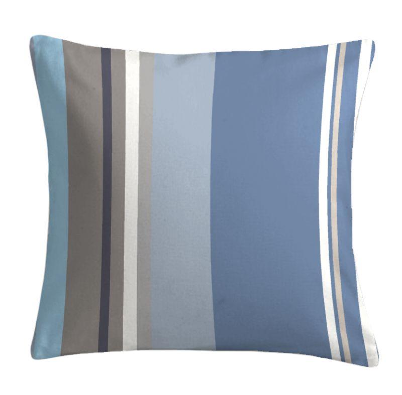 Perna decorativa albastra bumbac Santacruz 40×40 cm (Franta)