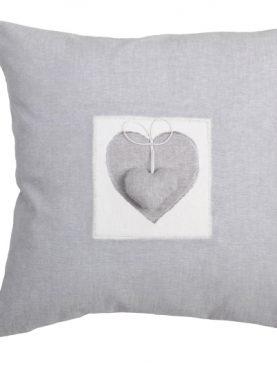 Perna decorativa gri alb 1717 Joliesse1 40x40 cm