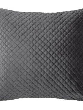 Perna gri catifea Baryton Anthracite 45x45 cm