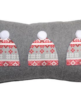 Perna gri lana Bonnet 30x50 cm
