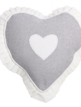 Perna inima gri bendita 1717 Joliesse 30 cm