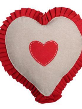 Perna inima rosie bendita 1717 Joliesse 30 cm