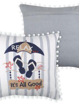 Perna marinareasca Relax Deauville Gris 40x40 cm
