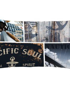 Perna marinareasca iaht 1689 Sailor 30x50 cm