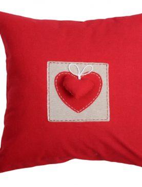 Perna rosie decorativa 1717 Joliesse1 40x40 cm