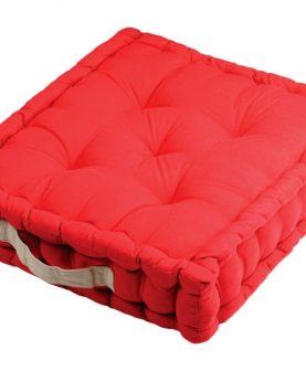 Perna rosie podea Duo Sol Rouge Lin 45X45X10 cm