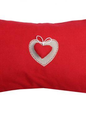 Perna rosie rustica inima 1717 Joliesse2 30x50 cm